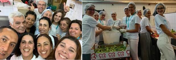 Figura 11.&nbsp;<b>Um dia de voluntariado no CASA - Centro de Apoio ao Sem Abrigo.</b>