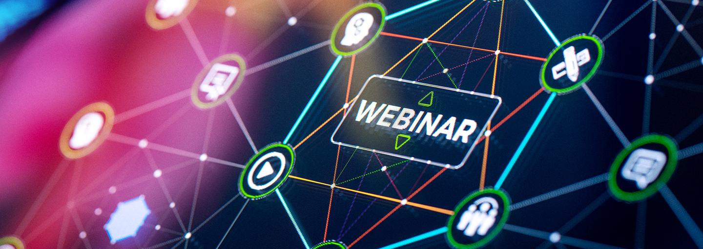 Webinar services presentation and infographics