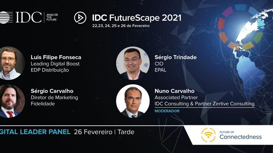 Antevisão do Painel Future of Connectedness por Sérgio Carvalho, da Fidelidade