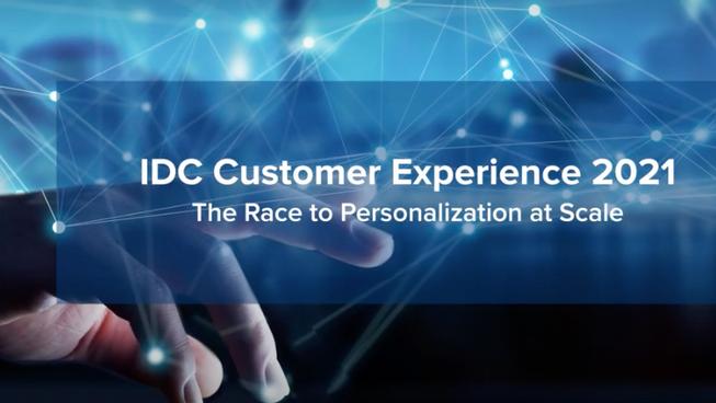 Best of Customer Analytics & Customer Service , IDC Customer Experience