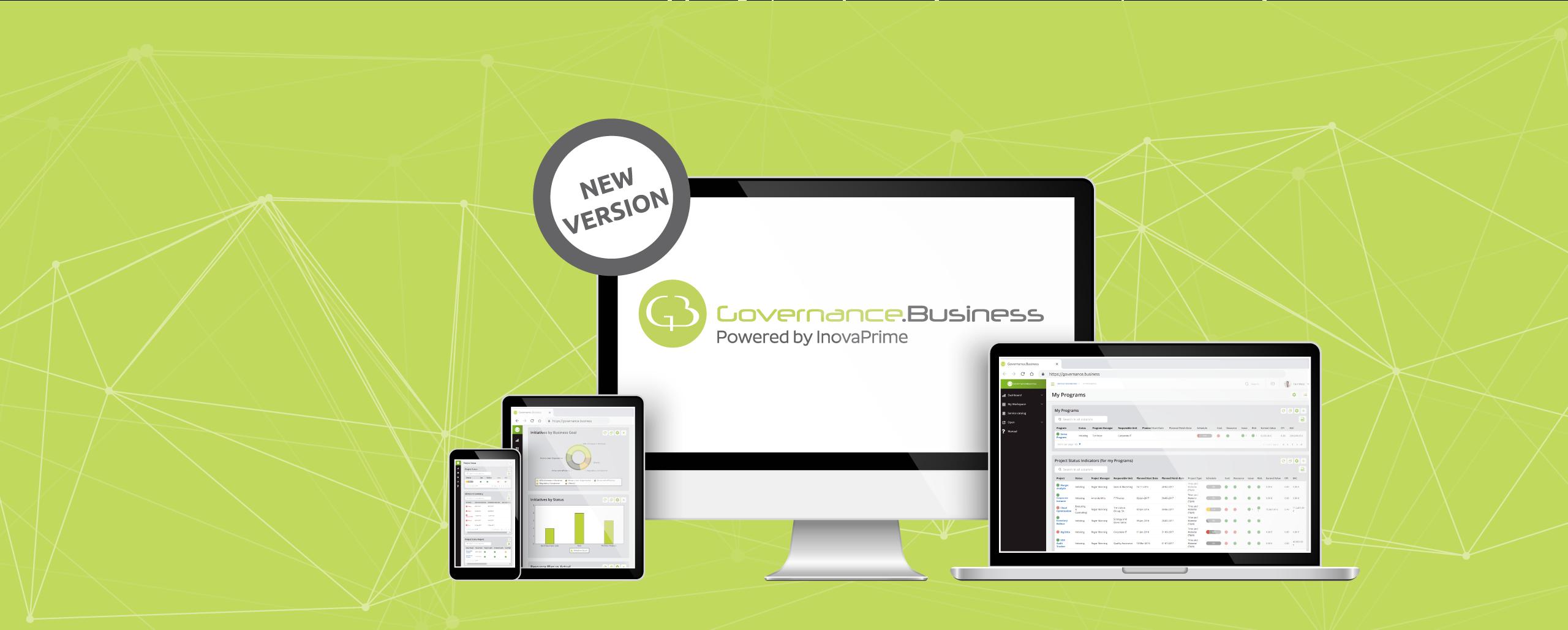 InovaPrime Prepara o Lançamento da Nova Versão do Governance.Business em Evento Exclusivo